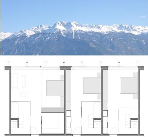 Etcaetera s rl 39 architecture design 39 crist 39 alps for T architecture sarl